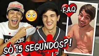 ELE SÓ AGUENTA 15 SEGUNDOS?! (ft. Cocielo)
