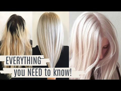 Perfect Platinum Hair Regrowth Tips Amp Advice From A