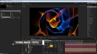 CINEMATIC Particles Logo Reveal TUTORIAL │ Part 2 - After Effects Tutorial!