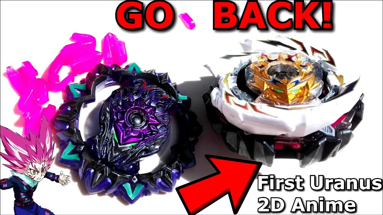 How to Go Back to First Uranus' 2D Anime Chassis!! Beyblade Burst SuperKing Sparkingベイブレードバースト超王