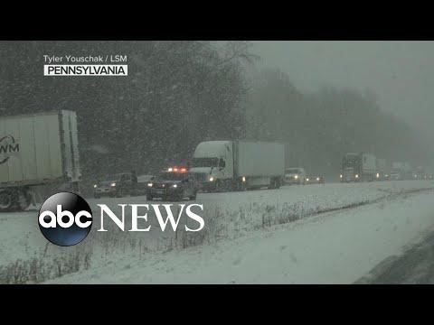 Deadly winter storm wreaks havoc for millions