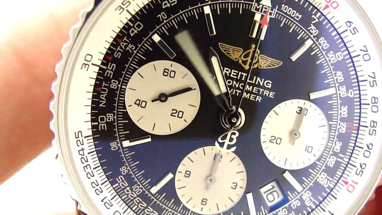 Authentic Breitling Navitimer Watch Review A2332212