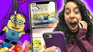 Winning Real Prizes From A Japanese Claw Machine App!! (mystery Gaming   Toreba)