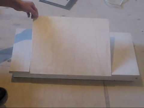 видео: Столик для ноутбука своими руками. Часть 1