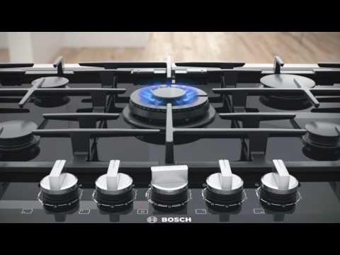 Płyty Gazowe Bosch Z Technologią Flameselect Youtube