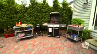 Minute Makeover: Design A Grilling Station To Entertain Outdoors With Ease