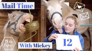 Mail Time With Mickey 12 | Try not to laugh challenge! | This Esme thumbnail