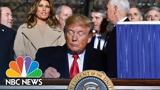 President Donald Trump Siġns NDAA, Authorizes Space Force | NBC News