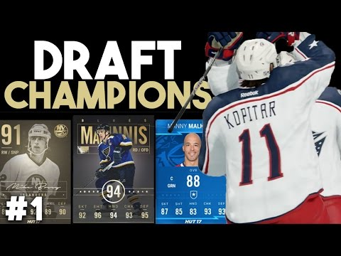 NHL 17 | WE ARE THE DRAFT CHAMPIONS #1