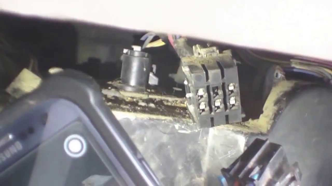 How To: Blower Motor and Resistor replacement 1996 GMC 2500  YouTube