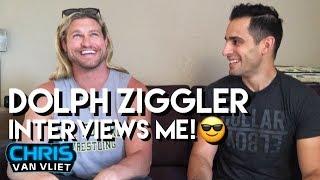 "Dolph Ziggler interviews me, explains his WWE ""hiatus"", his Royal Rumble appearance"
