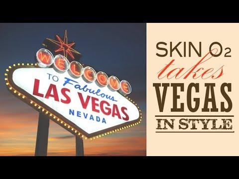 Skin O2 takes Las Vegas in Style