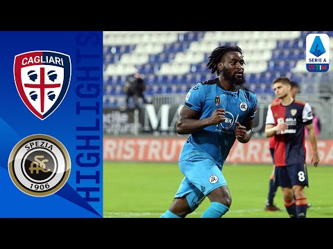 Cagliari Spezia Goals And Highlights