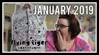 It Was An Accident...HONEST! | Flying Tiger Haul January 2019! | Lecosanne ♡