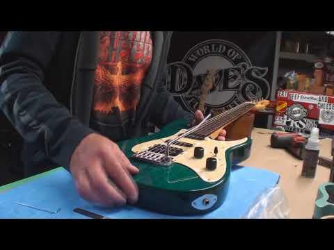 Washburn MG 401 Grover Jackson Guitar 1996