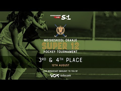 Oranje Super 12 Hockey Tournament St. Anne's  VS Menlopark