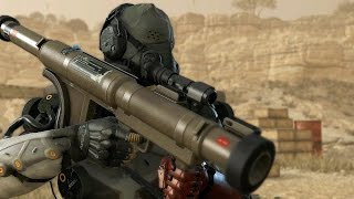 MGS5 - Ep.45 A Quiet Exit - No Damage No Kills All Vehicles Extracted
