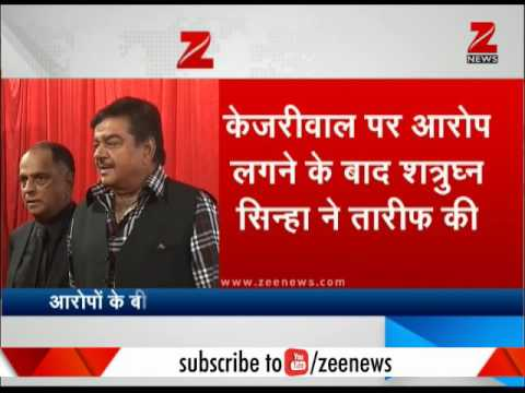 BJP MP Shatrughan Sinha praises Arvind Kejriwal on Twitter