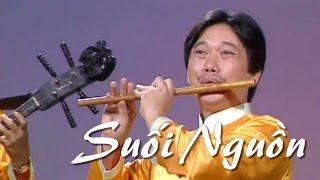 SUỐI NGUỒN - Độc tấu sáo trúc | Nsut Đinh Linh