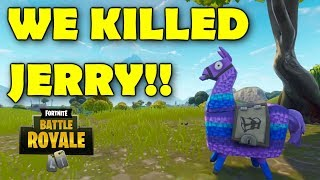 WE KILLED JERRY (Fortnite Highlights)