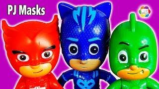 لعبة PJ Masks أبطال بلباس النوم العاب الشخصيات للاطفال