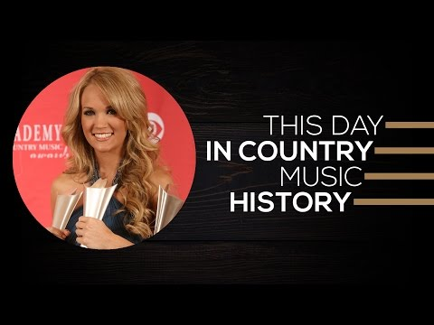 John Michael Montgomery, Rascal Flatts, Carrie Underwood   This Day In Country Music History