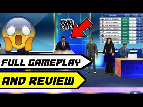 🔥Real Cricket 18 Auction Full Gameplay & Review | RC 18 Auction Update