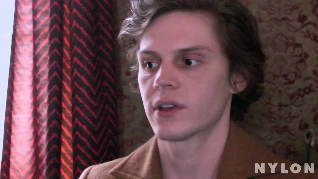 Evan Peters  Nylon Magazine 10 Questions For YouTube