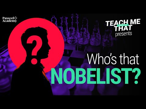 Bet You Can't Guess This Nobelist!