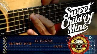 sweet child o mine guitarra acustica guns n´roses solo 1 christianvib