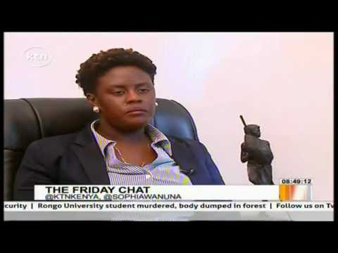 Interview with Raila Odinga's youngest daughter Winnie Odinga