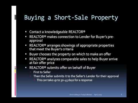 Understanding Short Sales in Real Estate  - Part 2