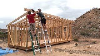 12'x24' DIY Shed Build (Part 4 - Roof)