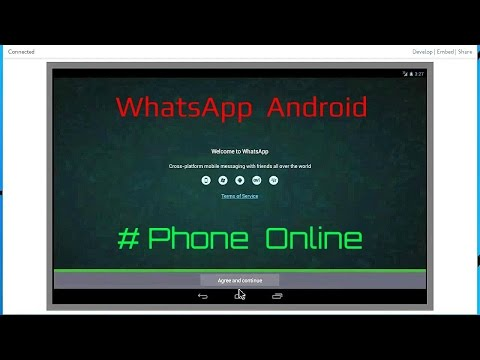 How use WhatsApp Bluestacks without mobile phone