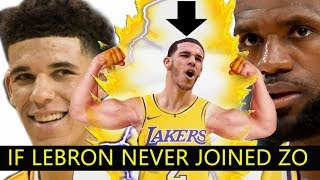 If Lebron Never Went To LA :  The Lakers with Lonzo Running the SHOW!!!