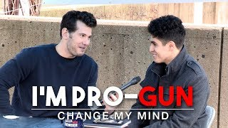 REAL CONVERSATIONS: I'm Pro-Gun (2nd Edition) | Change My Mind