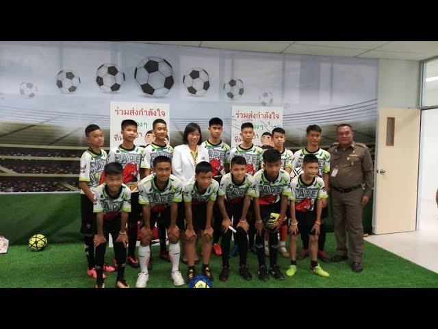 thai-soccer-team-and-coach-released-from-hospital-talk-about-rescue