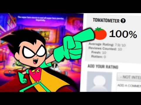 The Teen Titans Go Movie is Currently 100% on Rotten Tomatoes