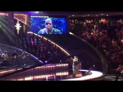 CeeLo Green  at Lakewood Church