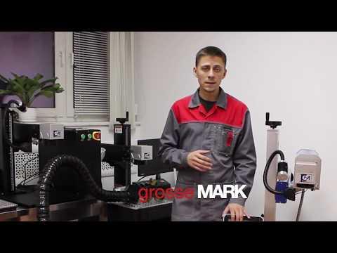 Обязательная маркировка товаров 2020. СО2 лазерный маркер G-MARK СО2 Fly (Synrad) By GrosseMARK