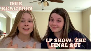 our reaction to liam payne's online concert **we cried** | LP Show: The Final Act