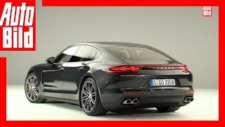 Porsche Panamera 2 Turbo (2016) Premiere Vorstellung Preview Neu