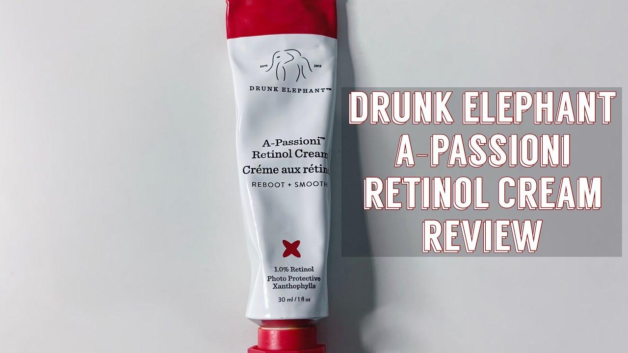 drunk elephant a-passioni retinol cream