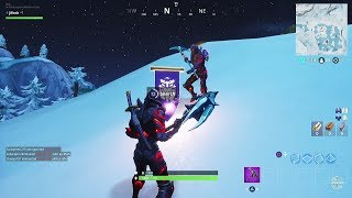 Fortnite Battle Royale - Season 8 Week 8 Discovery Challenges Secret Banner Location Guide