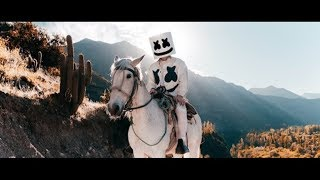 Marshmello ft. R3HAB & Martin Garrix - Higher Love (Official Music Video)