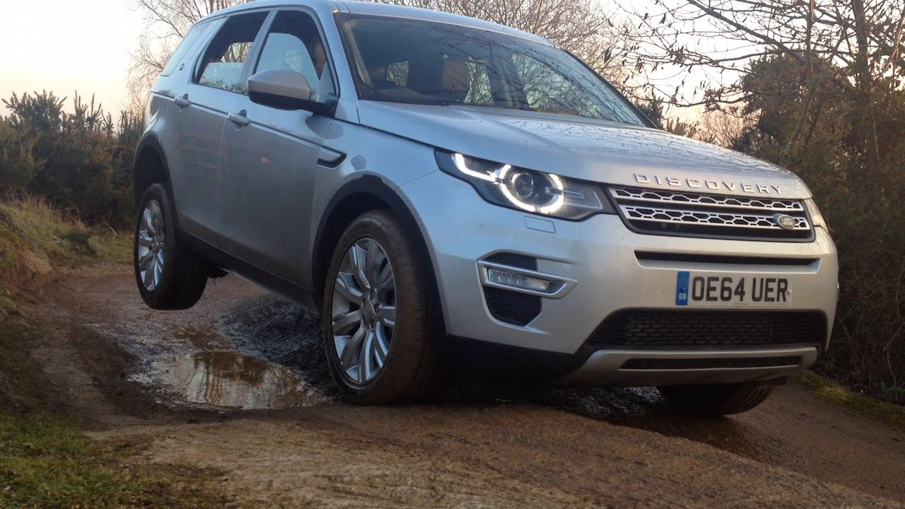 Land Rover Discovery Sport: Off Roading And Water Wading. Car Throttle Extra