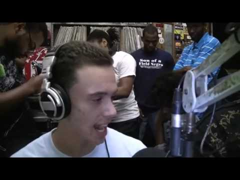 Logic's First Ever Radio Interview & Freestyles (2010)