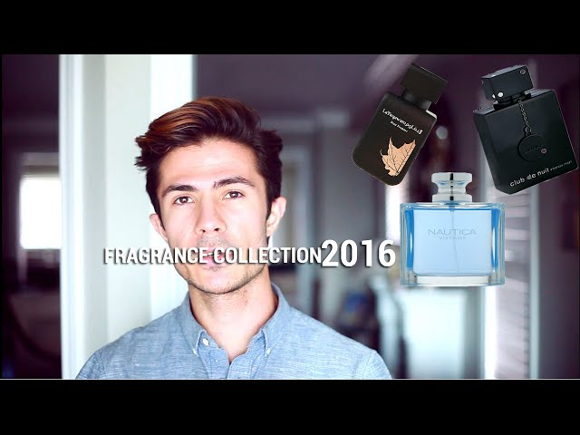 Fragrance / Cologne Collection | 2016