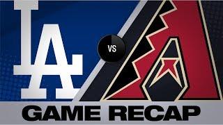 Dodgers break HR record in comeback win | Dodgers-D-backs Game Highlights 9/1/19