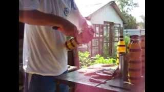 Как сделать пчелу из пластиковой бутылки
